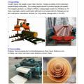 Machine à presse chaude pour contreplaqué à court terme pour laminage de contreplaqué en bois