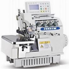 Máquina de costura totalmente automática computadorizada de overlock com acionamento direto