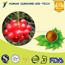 Poudre chinoise libre de PE de fruit de Magnoliavine d'ingrédient sédatif d'échantillon pour la médecine de sommeil