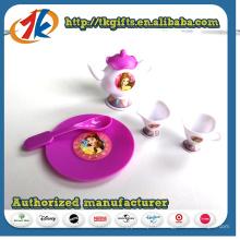 Nouveau jeu de thé en plastique mini simulation design