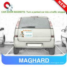 flexible novelty car door magnet