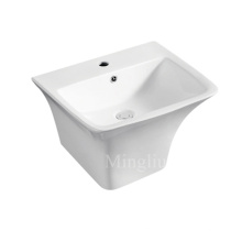 modern designgood quality bathroom ceramic wall hung basin
