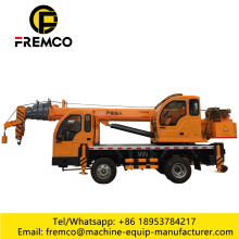 6Ton Diesel Consumption of Hydraulic Truck Cranes