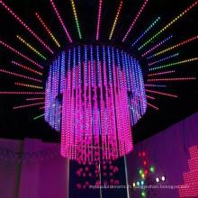 DJ Club Musique DMX 3D Tube Lumière