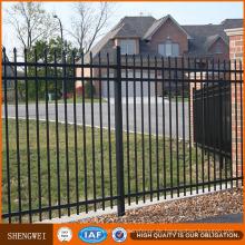 Hochwertiger industrieller Eisen-Stahl-metallischer Zaun