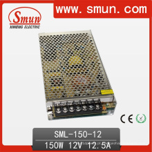 Fonte de alimentação projetada iluminação do motorista do diodo emissor de luz de 150W 12VDC 12A