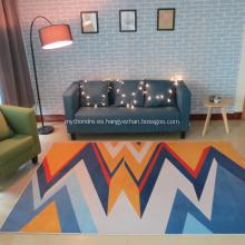 alfombra de impresión digital con diseños populares