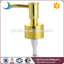 Favorable price gold plated lotion pump dispenser