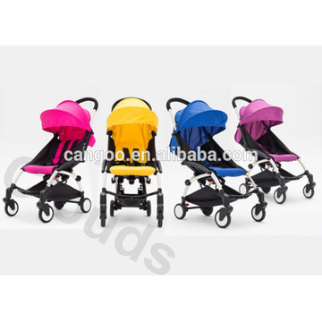 Universal Wheel Portable Luxus Baby Kinderwagen / Faltbare Pram Eco freundlich mit Regen Abdeckung