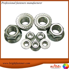 Good Quality for China Large Flange Nuts, Hexagon Flange Nuts, Special Flange Nut Manufacturers Hex Nuts With Flange DIN6923 supply to Montenegro Importers