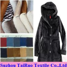Micro gamuza con felpa compuesta de lana polar o franela