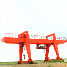 Wireless double beam gantry crane with remote control