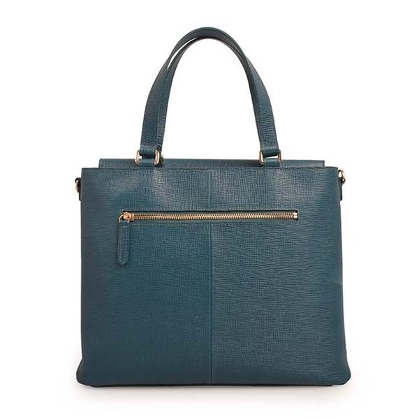 Leather Handbag Brief Women Business Shoulder Bag