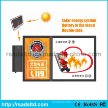 Solar Energy Street Advertising Light Box
