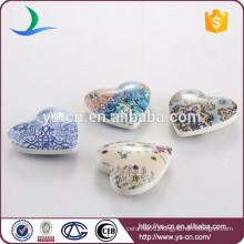 Wholesale ceramic heart decorative home decor