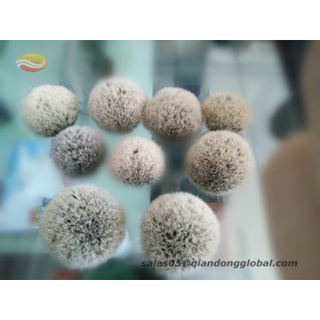 Badger Hair Shaving Brush Knot with Natural Tips