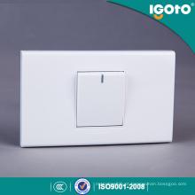 Igoto American Style A1011 Interruptor de luz de parede elétrica de 1 Gang 1 Way