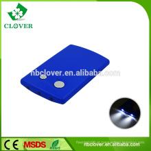 Lâmpada de cartão design popular 3 LED baratos mini lanterna de plástico
