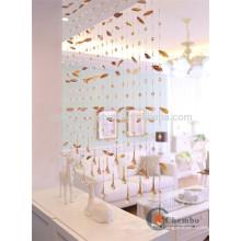 Rideaux perlés en perles en Chine pour décoration maison