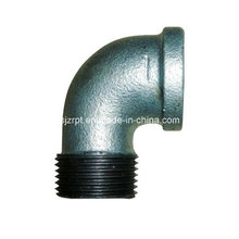 Malleable Iron Pipe Fittings Gleiche F & M Banded Street Elbow