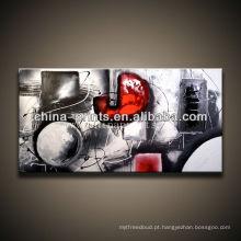 Novo desenho abstratos esticar óleo quadro pintura
