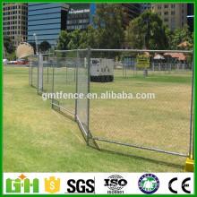 Lien de chaîne standard de l'Amérique Clôture temporaire, clôture provisoire extérieure