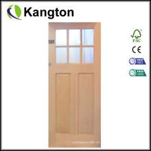 Holztür, Brandschutztür aus Holz, Innentür (Innentür)