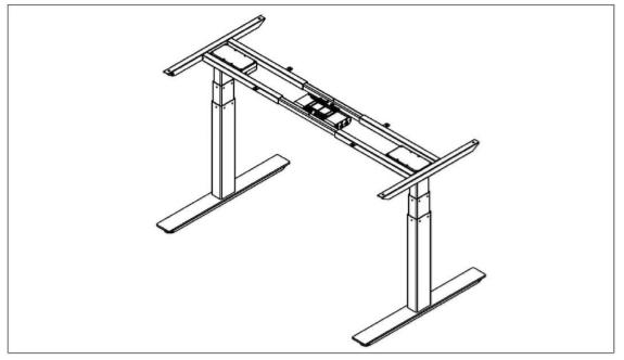 Height Adjustable rack frame