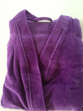 Purple Velour Terry ...