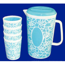 Juegos de jarra de plástico del proveedor chino 2015