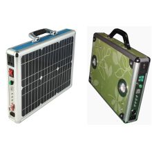 10W Solar Power System Portable Case Box
