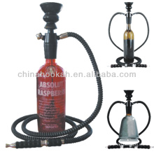 New design portable hookah /wine bottle hookah shisha / nargile /hubbly bubbly with high quality