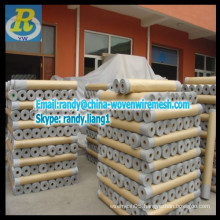 Sliding aluminium alloy window screen