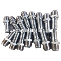 China manufacturer custom brass hydraulic hose fittings