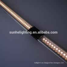 Luz llevada dimmable del gabinete 12v luz del gabinete de interruptor del tacto 10w / lámpara llevada del escaparate de la joyería con el perfil de aluminio