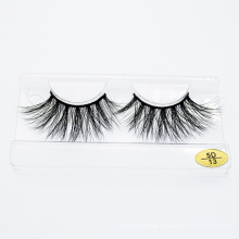 Customized Packaging 100% 25mm 3D 5D Real Mink Lashes Beauty Products Makeup