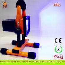 Lumière d'inondation rechargeable portative de prudence des véhicules à moteur de M.-Fd-10W LED avec Ce / RoHS / SAA