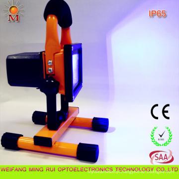 Luz de inundação automotivo recarregável portátil do diodo emissor de luz do cuidado de Mr-Fd-10W com Ce / RoHS / SAA