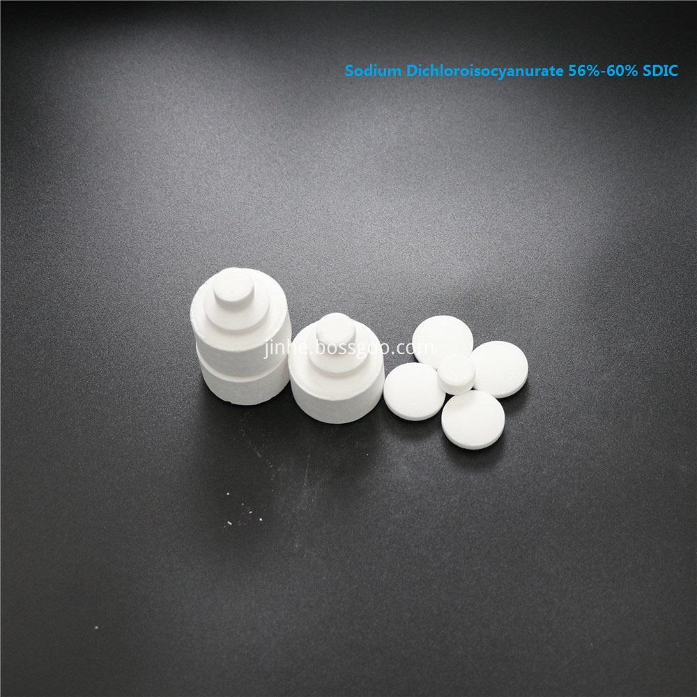 Chemicals SDIC 56% 60% Granular For Swimming Pool