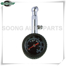 Bass stem Dial Metal Tire Gauge with air release valve