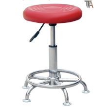 Material Rotary vermelho do ABS para o tamborete de barra (TF 6012)