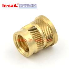 Porca de inserção de bronze de alta qualidade para caderno Shell