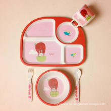 (BC-CS1072) Bamboo Fiber Tableware Set for Kids