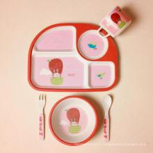 (BC-CS1072) Набор столовой посуды из бамбукового волокна для детей