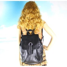 OEM Factory Leather Backpack Backpack voor dames