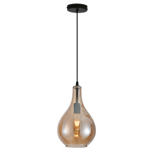 Modern Pendant Water Drop Glass Shade Pendant Lamp