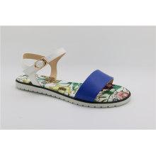 Mode Frauen Komfort Sandalen in Navy Blue