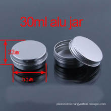 30g Screw Lids Lipstick/Hand Cream Aluminium Container/Jar/Cans