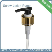 Pompe à vapeur à main en aluminium et alumine 28/410, distributeur de pompe à lotions métalliques