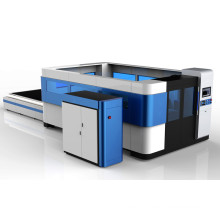 aluminium copper 1kw laser metal cutting machine